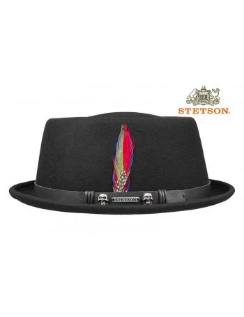 STETSON PORK PIE - THE ROCK'N'ROLLER HAT