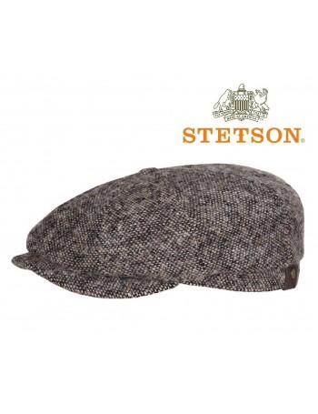 STETSON HATTERAS NEWSBOY CAP - col. GREY/BROWN