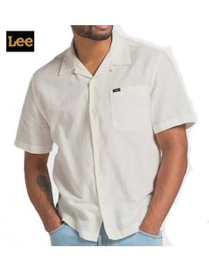 LEE - RESORT SHIRT WHITE CANVAS