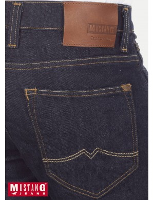 OREGON TAPERED RINSED DENIM - MUSTANG JEANS