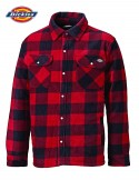 PORTLAND PADDED SHIRT  RED- DICKIES