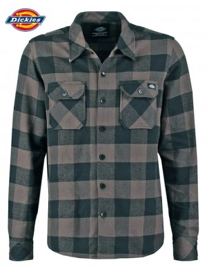SACRAMENTO SHIRT GRAVEL GREY- DICKIES
