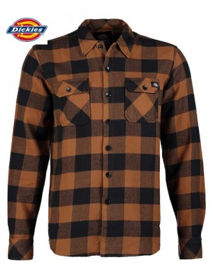 SACRAMENTO SHIRT BROWN DUCK- DICKIES