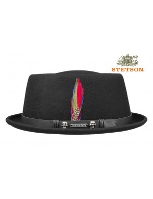 STETSON PORK PIE - THE ROCK'N'ROLLER HAT