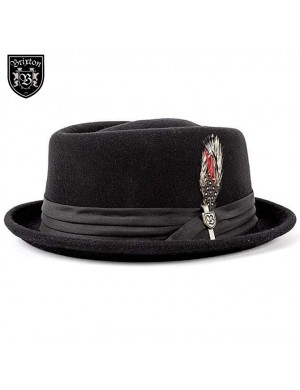 STOUT PORK PIE HAT - BRIXTON