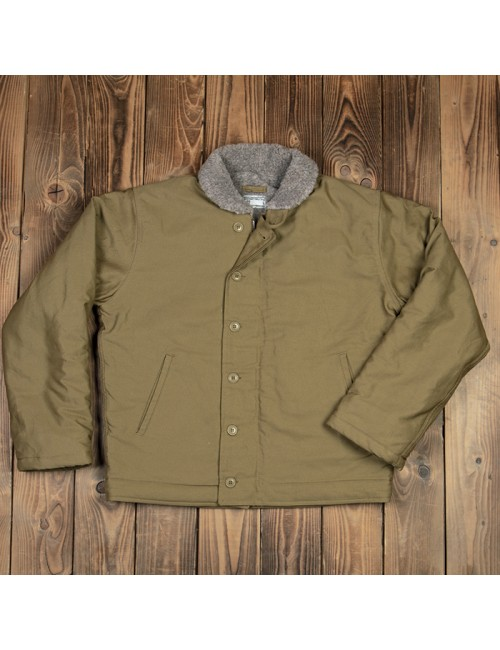 N1 DECK JACKET 1944 KHAKI - PIKE BROTHERS