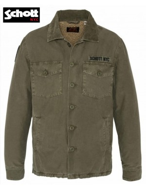 UTILITY ARMY JACKET TIMBER2 - SCHOTT
