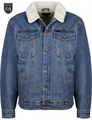 SHERPA DENIM JACKET - BRIXTON