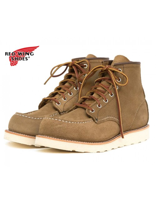 "8881 6""CLASSIC MOC TOE OLIVE MOHAVE"