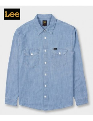 LEE WORKER CHAMBRAY  SHIRT