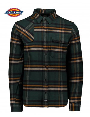 PRESTONBOURG DICKIES - COTTON FLANNEL SHIRT