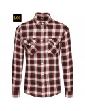WESTERN SHIRT RED OCHRE - LEE