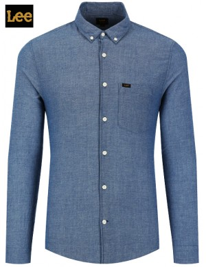 LEE CHAMBRAY BOTTON DOWN SHIRT